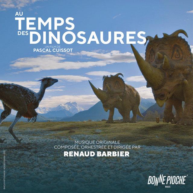 Couverture de Au temps des dinosaures (Bande originale du film)