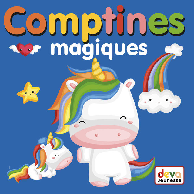 Couverture de Comptines magiques