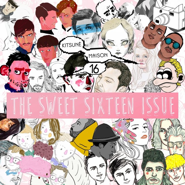 Couverture de Kitsuné Maison Compilation 16: The Sweet Sixteen Issue