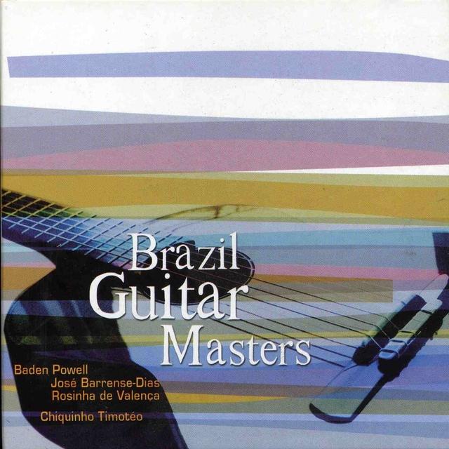 Couverture de Brazil Guitar Masters