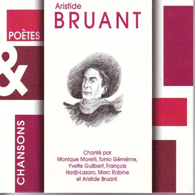 Couverture de Poetes & chansons : Aristide Bruant