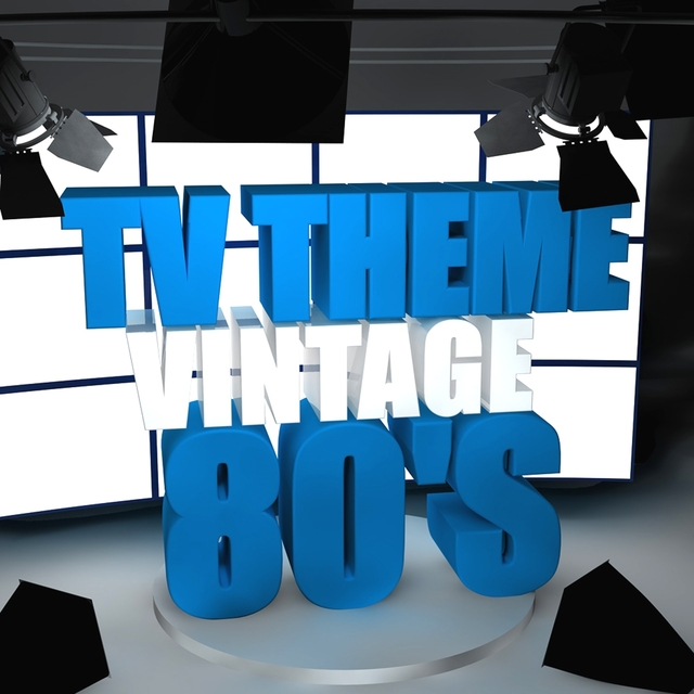Couverture de TV Theme Vintage 80's