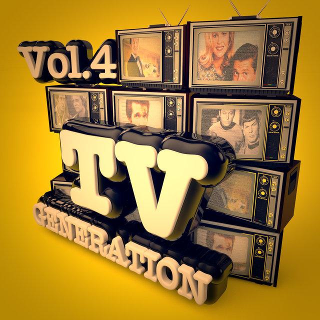 Couverture de TV Generation, Vol. 4