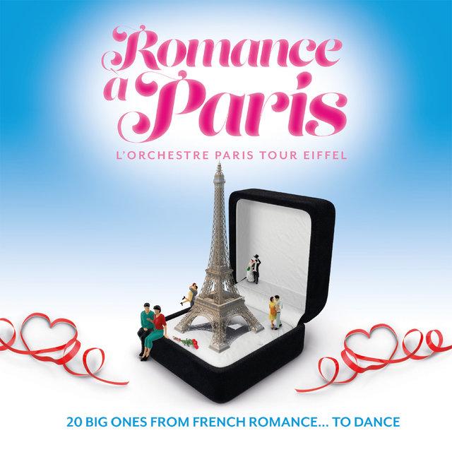 Couverture de Romance à Paris: 20 Big Ones from French Romance… To Dance