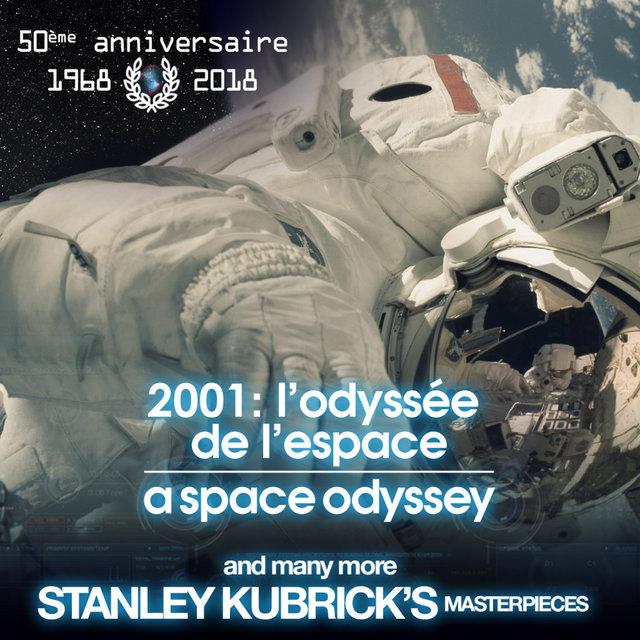 2001: L'odyssée de l'espace and Many More Stanley Kubrick's Masterpieces