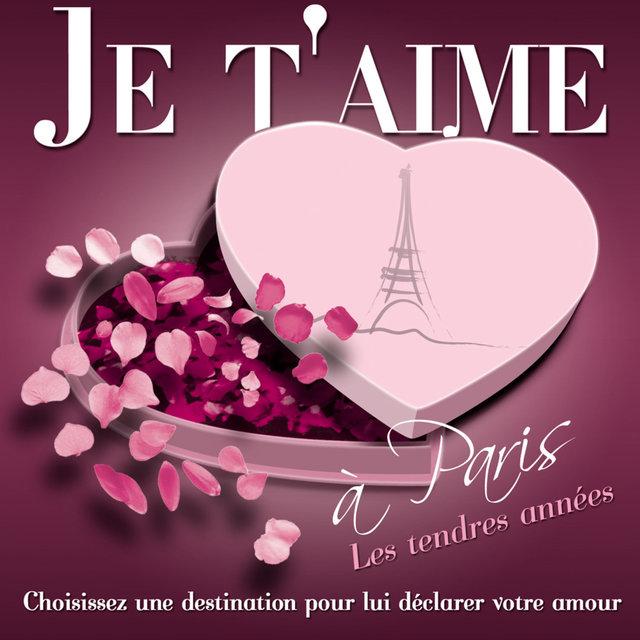 Couverture de Je t'aime à Paris - Les Tendres Années