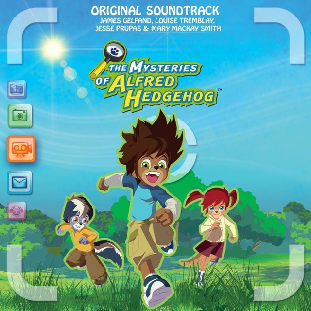 Couverture de The Mysteries of Alfred Hedgehog (Original Theme Song)