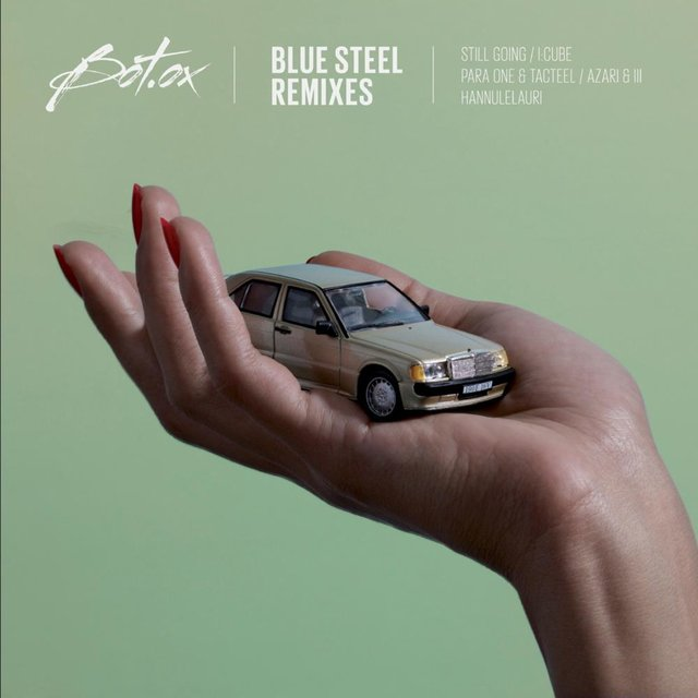 Couverture de Blue Steel Remixes - EP
