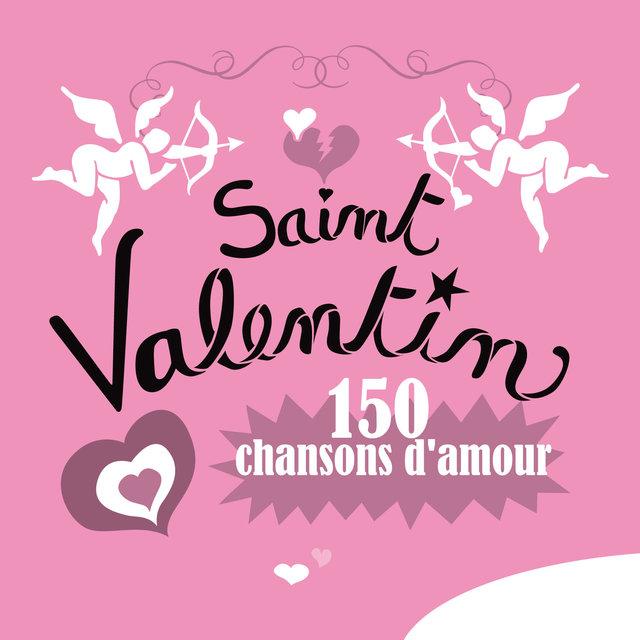 Couverture de Saint Valentin, 150 chansons d'amour
