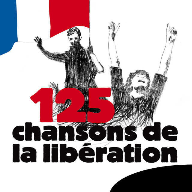 Couverture de 125 chansons de la Libération