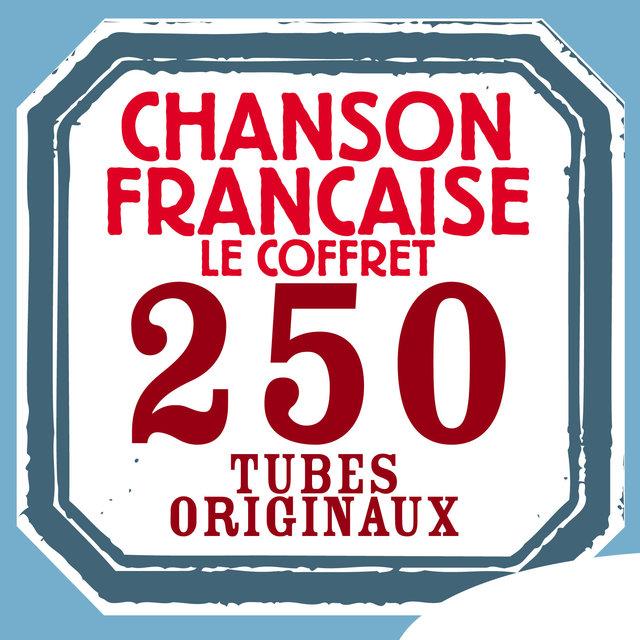 Couverture de Chanson française: 250 tubes originaux