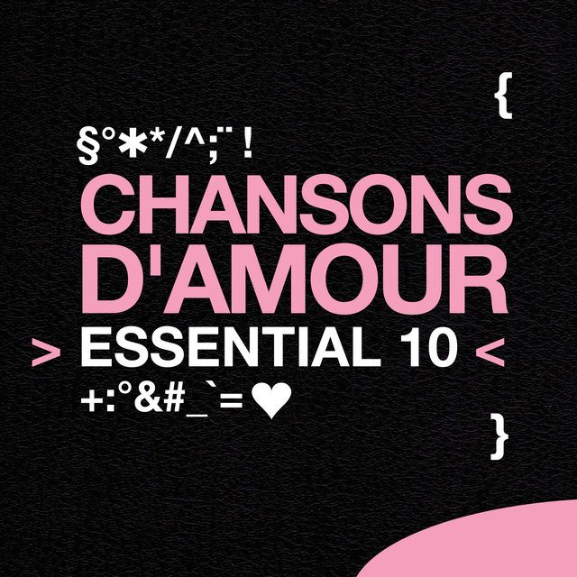 Chansons d'amour: Essential 10