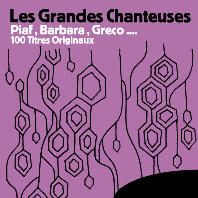 Couverture de Les Grandes Chanteuses: Piaf, Barbara, Greco… 100 titres originaux
