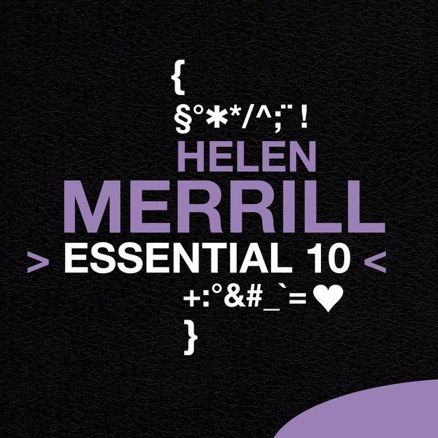 Couverture de Helen Merrill: Essential 10