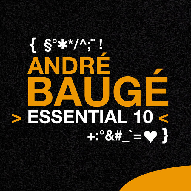 Couverture de André Baugé: Essential 10