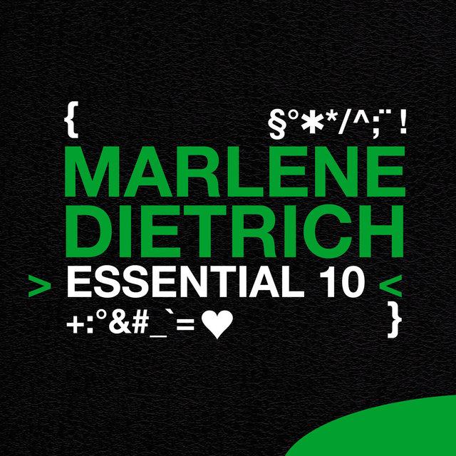 Couverture de Marlene Dietrich: Essential 10