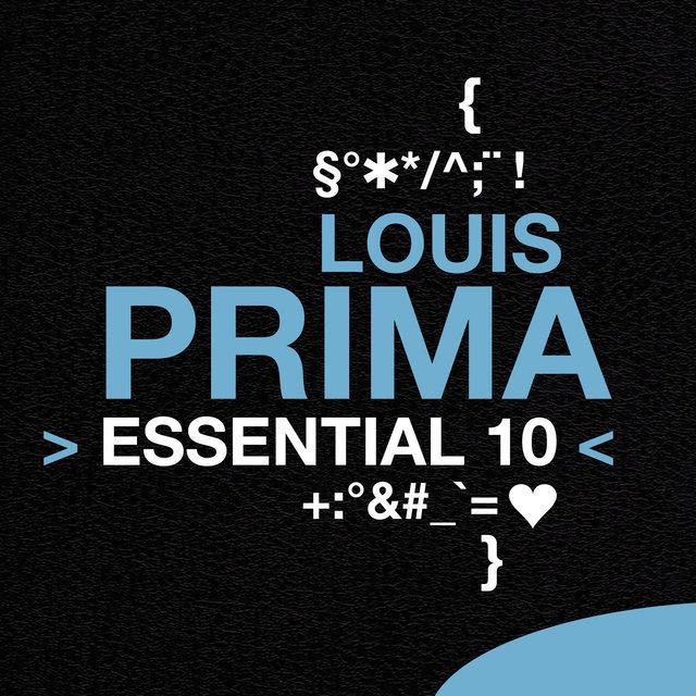 Couverture de Louis Prima: Essential 10