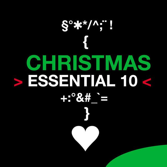 Couverture de Christmas: Essential 10