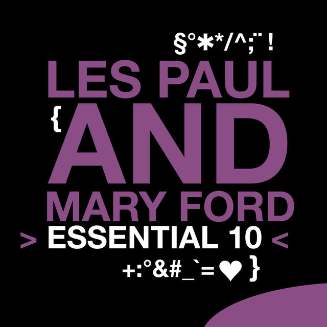 Couverture de Les Paul and Mary Ford: Essential 10