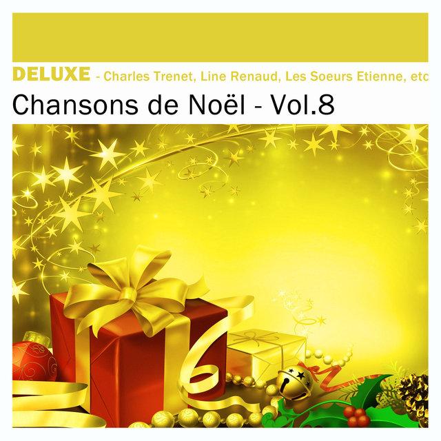 Couverture de Deluxe: Chansons de Noël, Vol.8