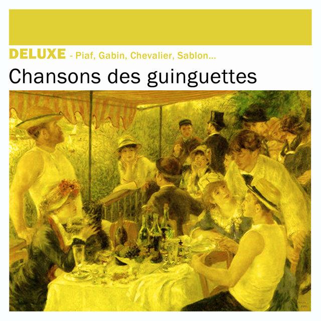 Couverture de Deluxe: Chansons des guinguettes