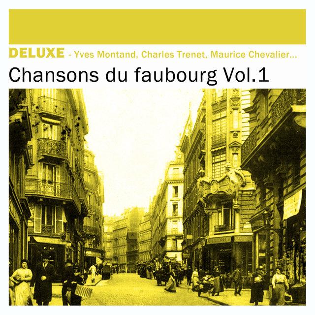 Couverture de Deluxe: Chansons du Faubourg, Vol.1