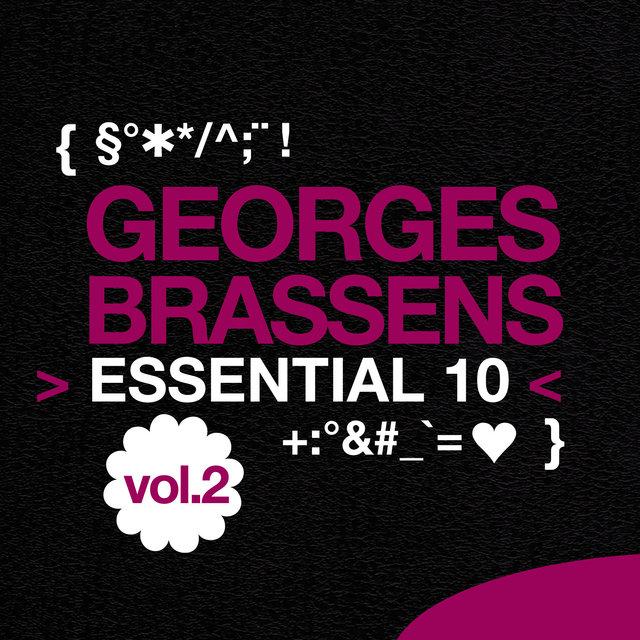 Couverture de Georges Brassens: Essential 10, Vol. 2