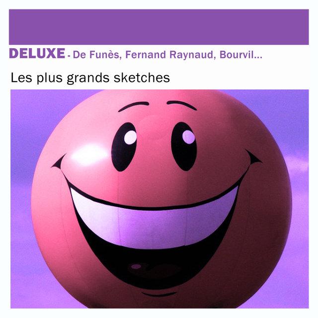 Deluxe: De Funès, Fernand Raynaud, Bourvil ... - Les plus grands sketches