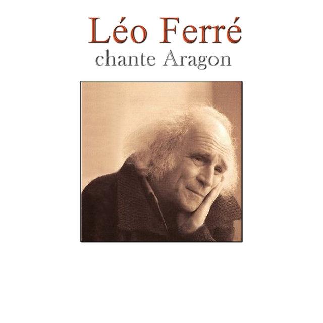 Couverture de Léo Ferré chante Aragon