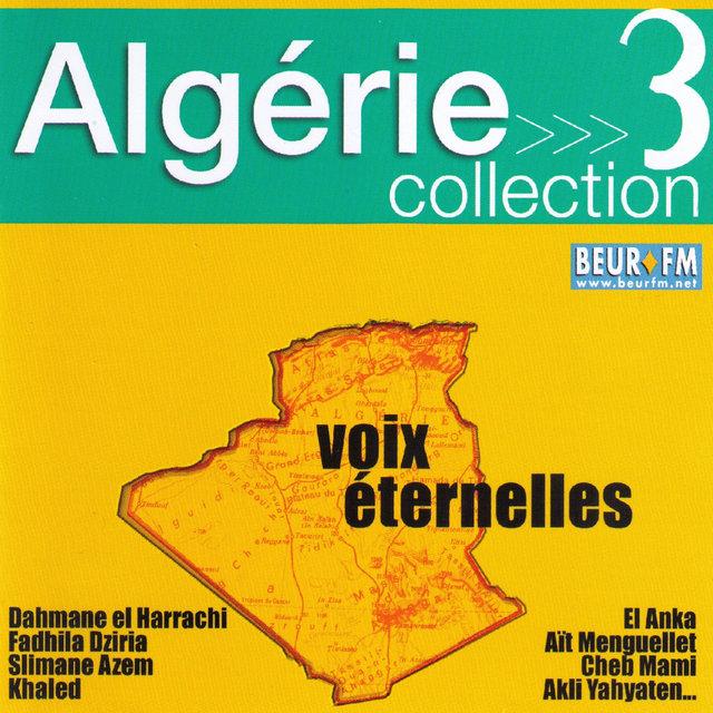 Couverture de Algérie collection 3: Voix éternelles