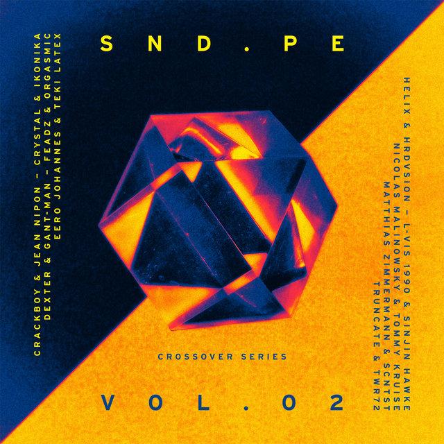 Couverture de Sound Pellegrino Presents SND.PE, Vol. 2: Crossover Series