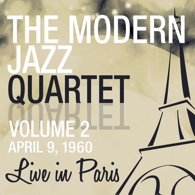 Couverture de Live in Paris, Vol. 2 - The Modern Jazz Quartet