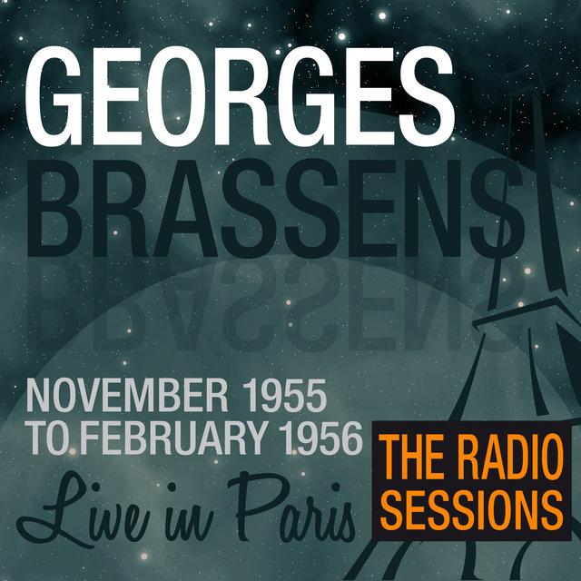 Couverture de Live in Paris (The Radio Sessions) - Georges Brassens