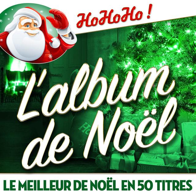Couverture de L'album de Noël - Le meilleur de Noël en 50 titres