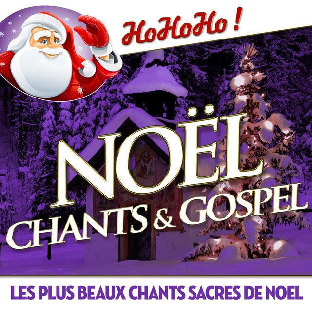 Couverture de Noël chants et gospel - Les plus beaux chants sacrés de Noël