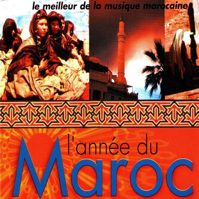 Couverture de L'année du Maroc (Le meilleur de la musique marocaine)