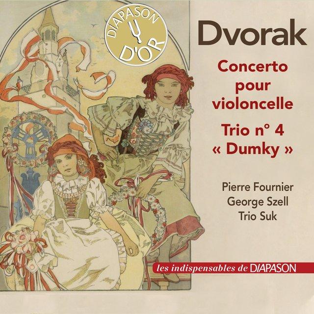 "Dvorák: Concerto pour violoncelle No. 2, Trio ""Dumky"""