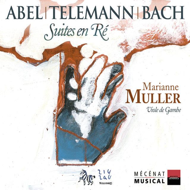 Abel, Telemann & Bach: Suites en Ré