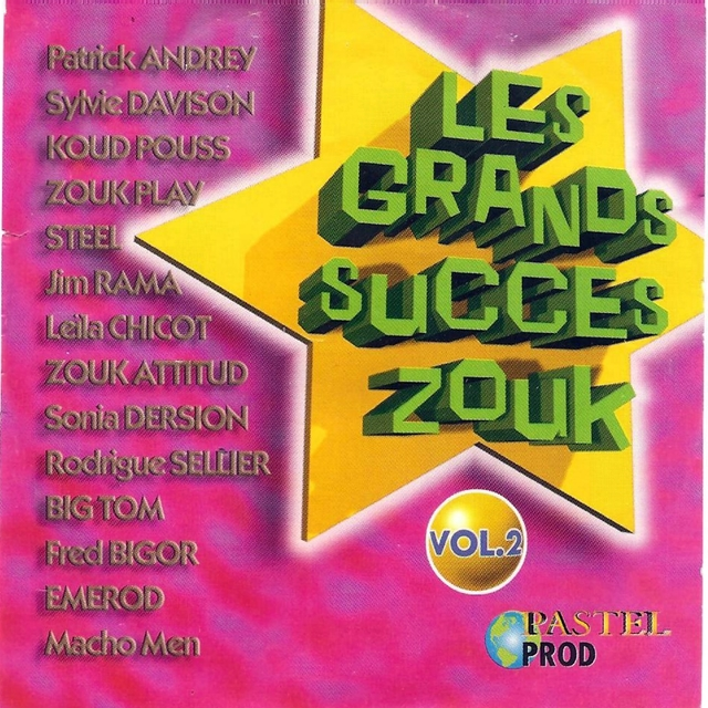 Les grands succès zouk, vol. 2