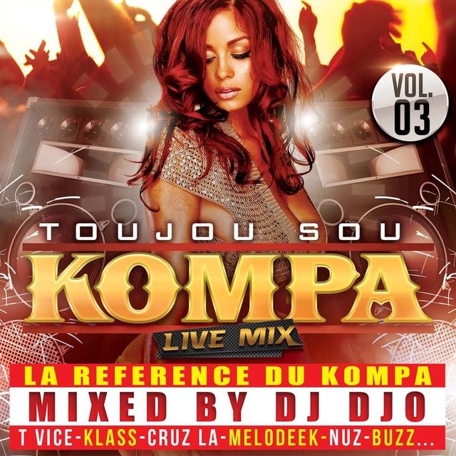 Toujou sou kompa Live Mix, vol. 3