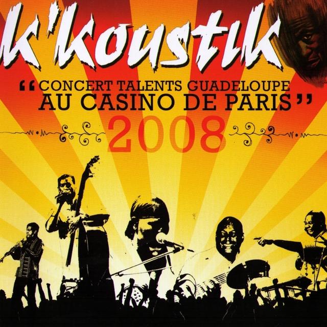 Concert talents Guadeloupe au Casino de Paris 2008