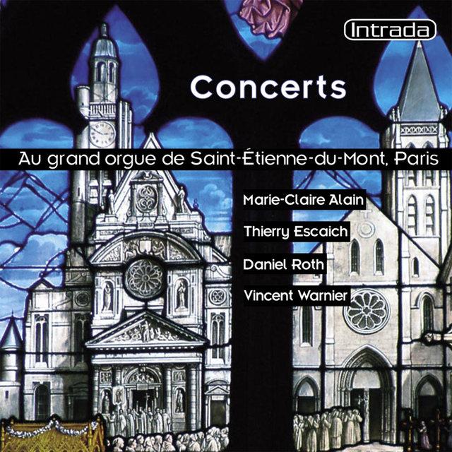 Concerts au grand orgue de Saint-Étienne-du-Mont à Paris