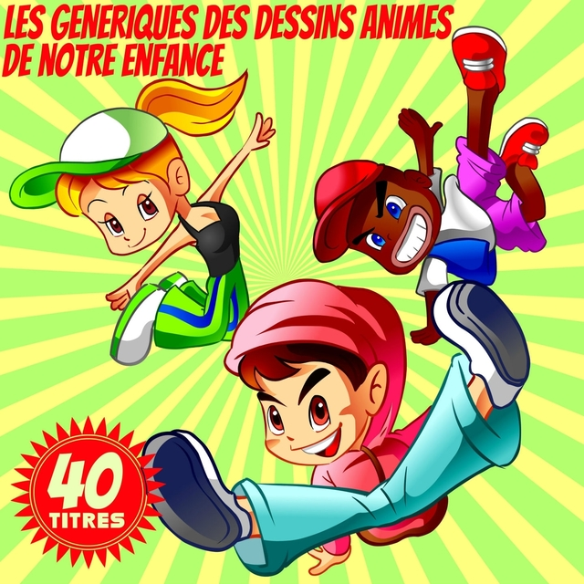 Les génériques des dessins animés de notre enfance