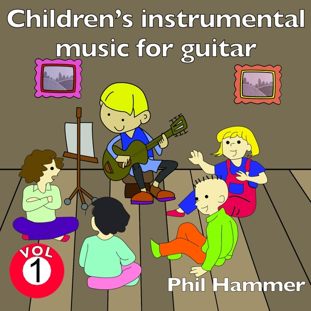 Couverture de Children's Instrumental Music for Guitar, Vol. 1