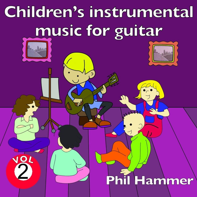 Couverture de Children's Instrumental Music for Guitar, Vol. 2