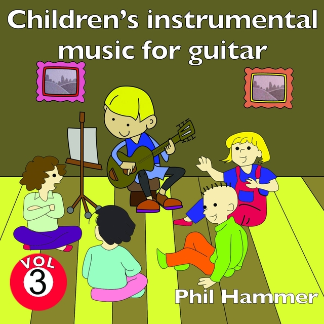 Couverture de Children's Instrumental Music for Guitar, Vol. 3