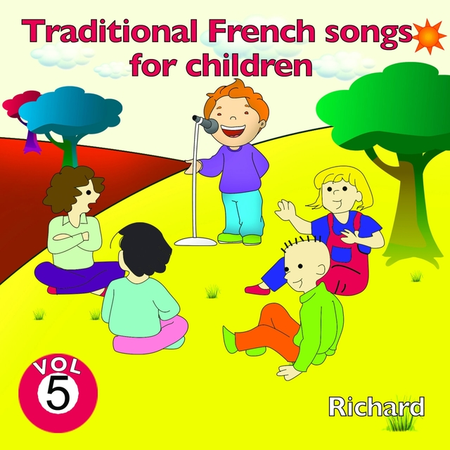 Traditional French Songs for Children, Vol. 5