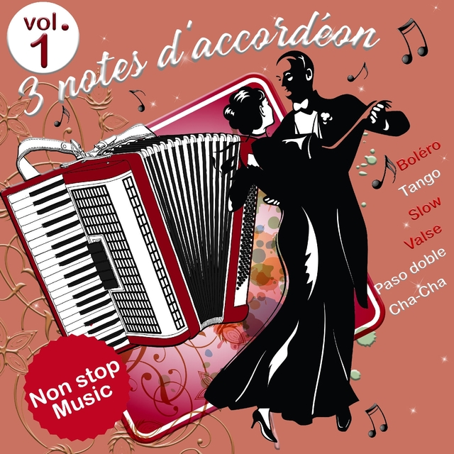 3 notes d'accordéon - Volume 1