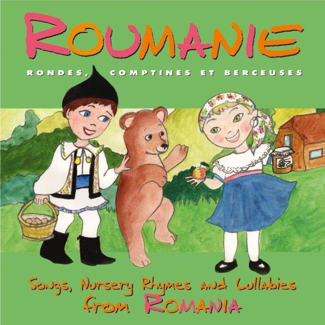 Couverture de Roumanie: Rondes, comptines et berceuses