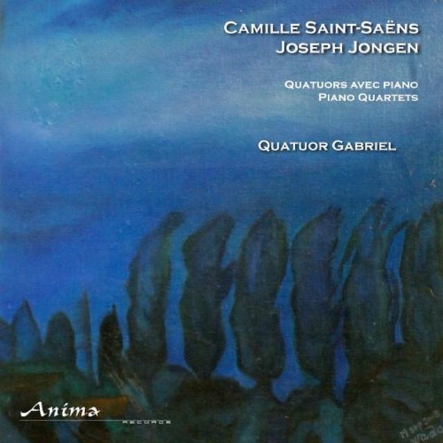 Saint-Saëns & Jongen: Quatuor Gabriel